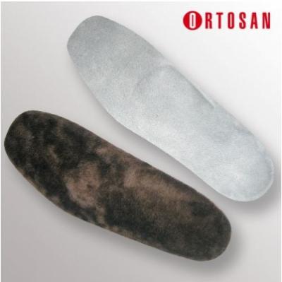 Стельки ортопедические меховые с высоким сводом (мех)