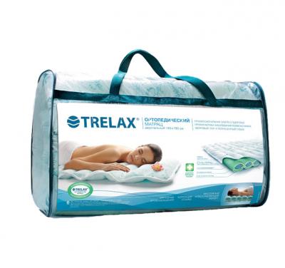 Ортопедический матрас двуспальный Trelax 160х190