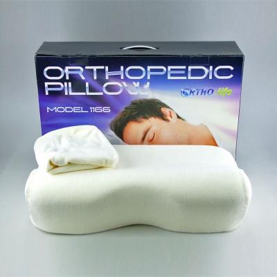 Модель 1166 — мужская ортопедическая подушка под голову, с эффектом запоминания формы