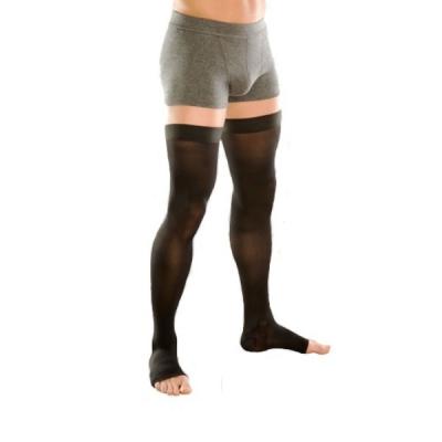 Мужские чулки VENOTEKS 2 класс, открытый носок, плотные