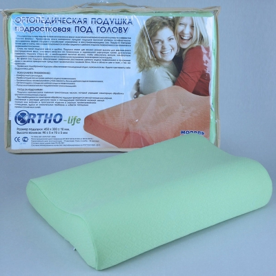 Модель 1185 от 8 до 16 лет — ортопедическая подушка для детей