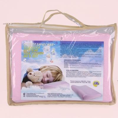 Модель 1183 до 6 лет — детская ортопедическая подушка под голову