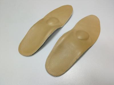 Стельки кожаные с высоким сводом кожа