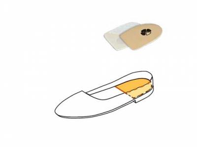 Ортопедический подпяточник Novea. Модель 755