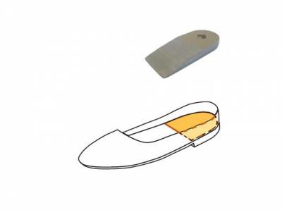 Подпяточник Novea при укорочении длины ног. Модель 777