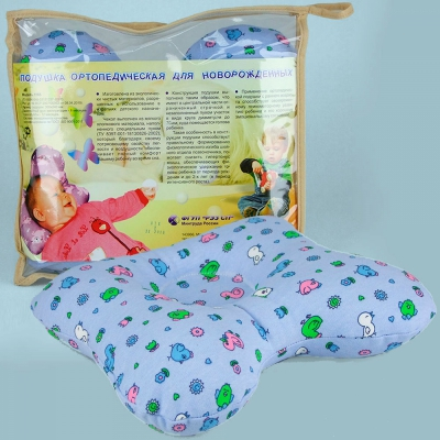 Модель 1165 до 2 лет — ортопедическая подушка для новорождённых