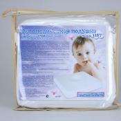 Модель 1187 - двусторонняя подушка под голову для новорождённых