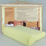 Модель 1172 Орто-Комфорт — ортопедическая подушка под голову