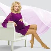 Колготки для беременных VENOTEKS Trend 1 класс, прозрачные