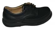 ОРТОДОМ 1183КШ - женские полуботинки со шнурками из кожи