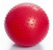 Мяч гимнастический игольчатый 65см Тривес М-165