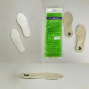 Детские ортопедические стельки из кожи. Модель-652/1
